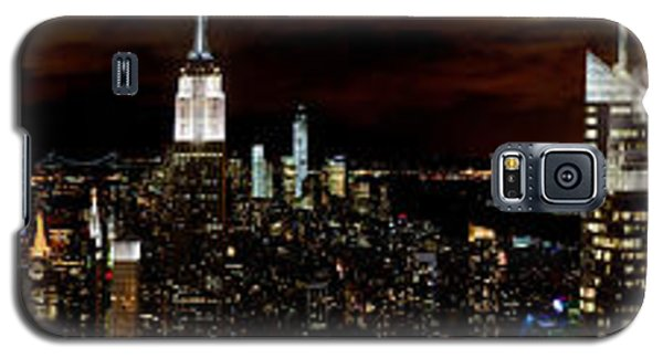 New York At Night Panorama Galaxy S5 Case