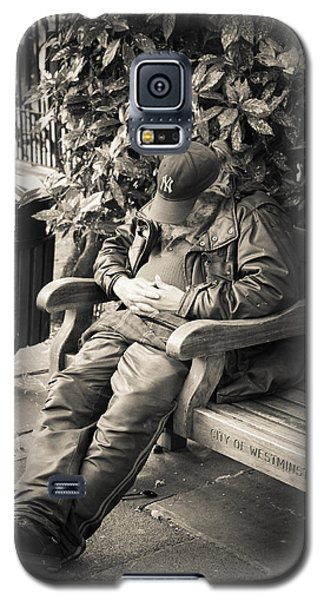 New York Bum In Westminster Galaxy S5 Case by Ross Henton