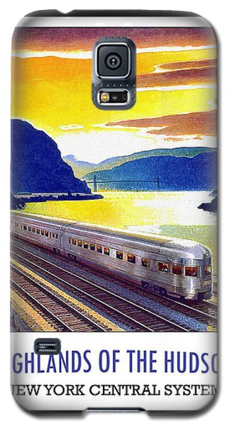 New York Central Vintage Poster Galaxy S5 Case