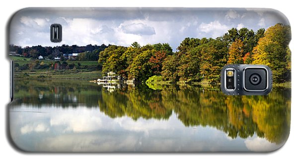 Galaxy S5 Case featuring the photograph New York Cincinnatus Lake by Christina Rollo