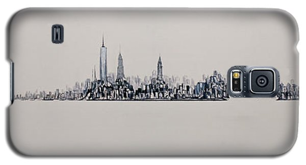 New York City 2013 Skyline 20x60 Galaxy S5 Case