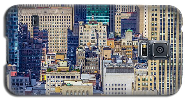 New York City Buildings Abstract Galaxy S5 Case