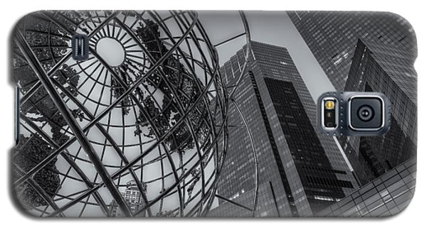 New York City Columbus Circle Landmarks II Galaxy S5 Case