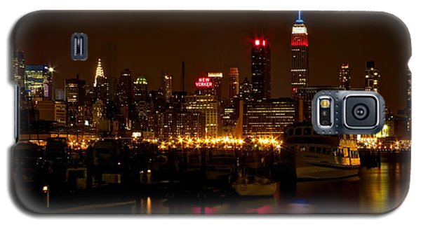 Galaxy S5 Case featuring the photograph New York City by Dave Files