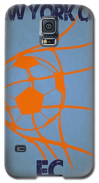 New York City Fc Goal Galaxy S5 Case by Joe Hamilton