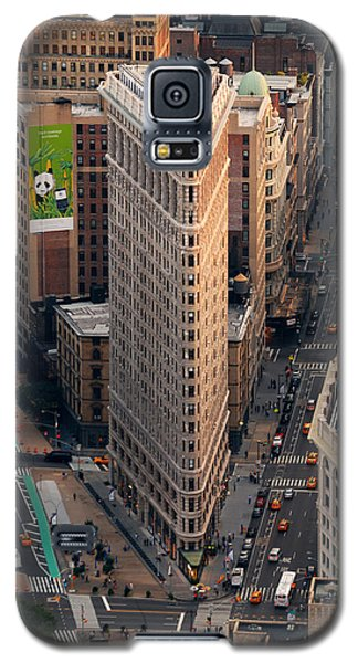 New York City Flatiron Building Aerial View In Manhattan Galaxy S5 Case