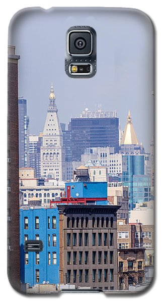 New York City From Brooklyn Bridge Galaxy S5 Case