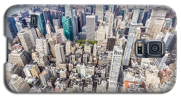 New York City From The Empire State Building Galaxy S5 Case