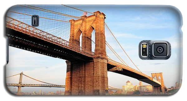 New York City Manhattan Brooklyn Bridge Galaxy S5 Case