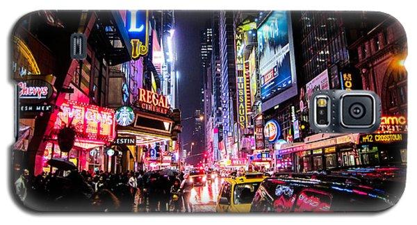 New York City Night Galaxy S5 Case by Nicklas Gustafsson