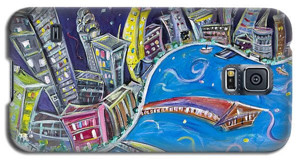 New York City Nights Galaxy S5 Case by Jason Gluskin