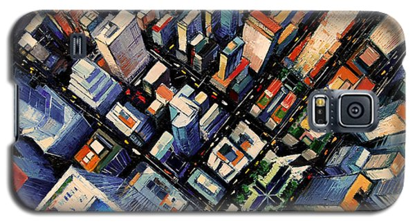 New York City Sky View Galaxy S5 Case
