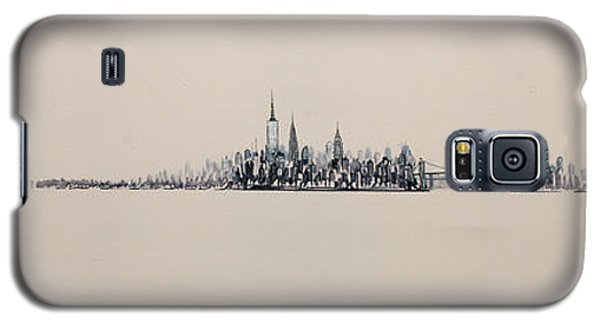 New York City Skyline 15x45 2013 Galaxy S5 Case