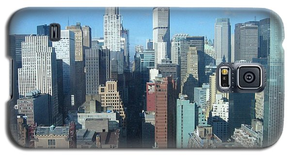 Galaxy S5 Case featuring the photograph New York City Skyline by Dora Sofia Caputo Photographic Art and Design