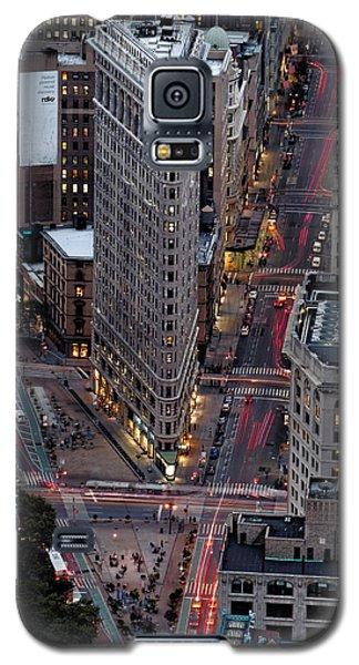 New York City Skyline Flatiron Building Galaxy S5 Case