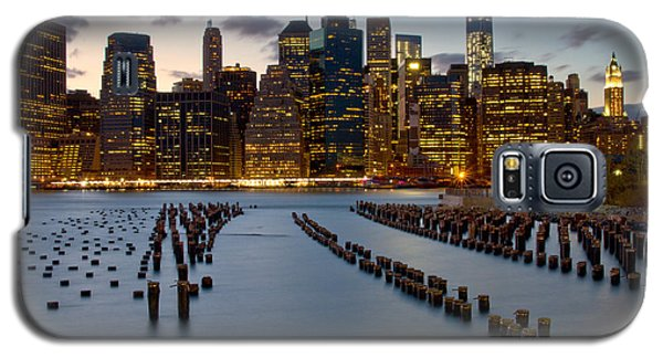New York City Skyline From Brooklyn Galaxy S5 Case