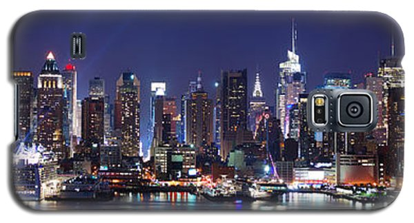 New York City Skyline Panorama Galaxy S5 Case