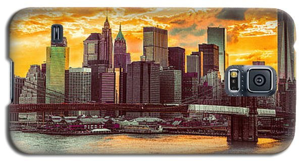 New York City Summer Panorama Galaxy S5 Case