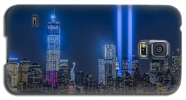 New York City Tribute In Lights Galaxy S5 Case