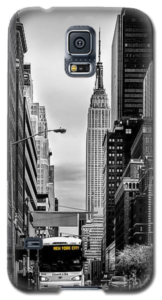 New York Express Galaxy S5 Case by Az Jackson