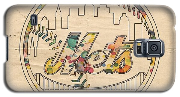 New York Mets Poster Vintage Galaxy S5 Case