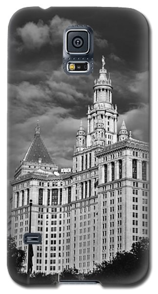 New York Municipal Building - Black And White Galaxy S5 Case