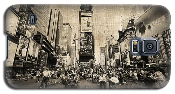 Galaxy S5 Case featuring the photograph New York New York by Barbara Manis