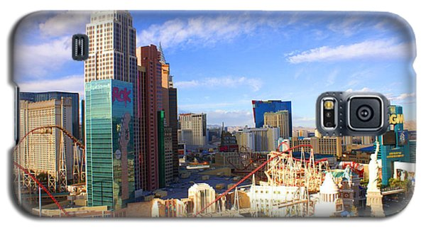 New York New York Las Vegas Nevada Galaxy S5 Case