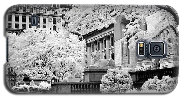 New York Public Library Ir Galaxy S5 Case