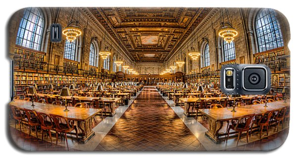 New York Public Library Main Reading Room Vii Galaxy S5 Case