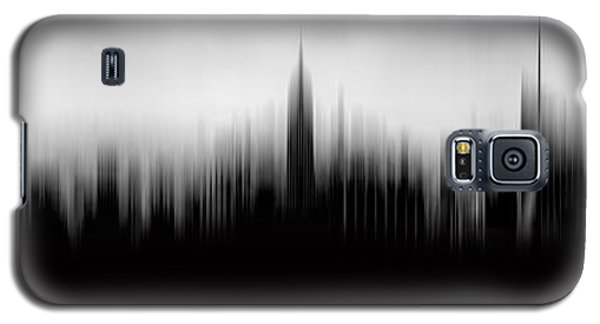 Empire State Building Galaxy S5 Case - New York Skyline Abstract by Az Jackson