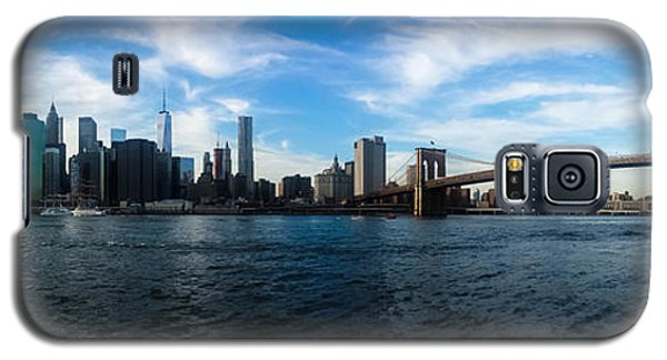 New York Skyline - Color Galaxy S5 Case by Nicklas Gustafsson