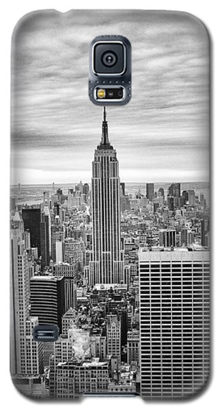 Black And White Photo Of New York Skyline Galaxy S5 Case