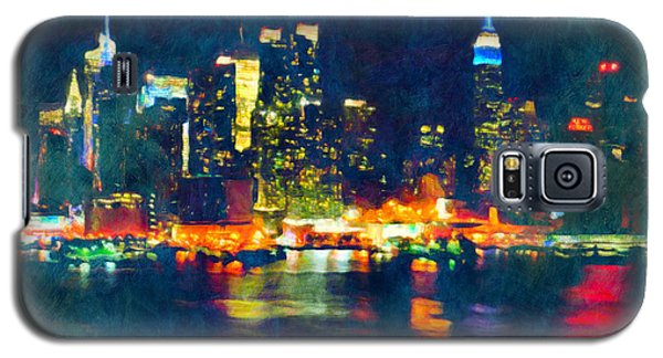 New York State Of Mind Abstract Realism Galaxy S5 Case