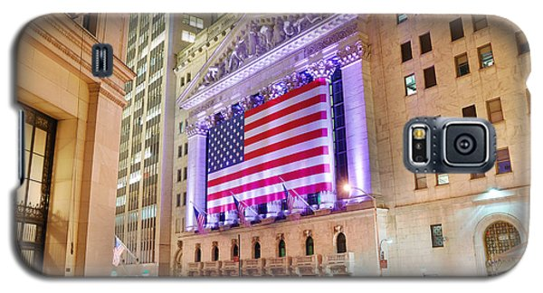 New York Stock Exchange At Night Galaxy S5 Case