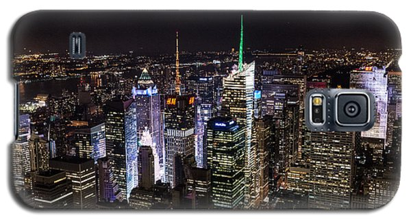 New York Times Square Galaxy S5 Case by Matt Malloy