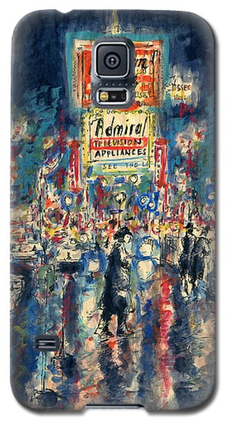 New York Times Square - Watercolor Galaxy S5 Case