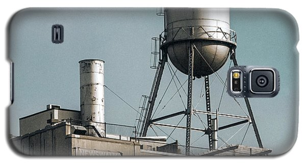 New York Water Towers 10 Galaxy S5 Case