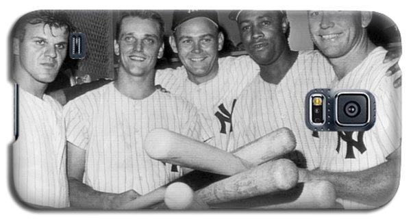 New York Yankee Sluggers Galaxy S5 Case by Underwood Archives