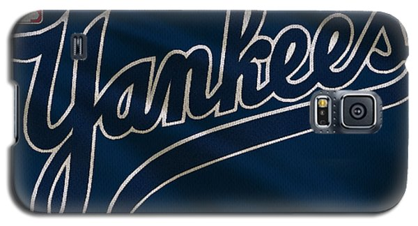 New York Yankees Uniform Galaxy S5 Case by Joe Hamilton