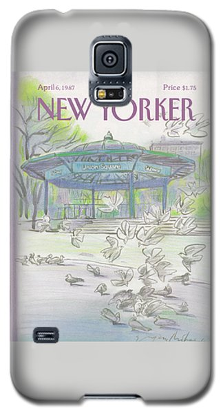 New Yorker April 6th, 1987 Galaxy S5 Case
