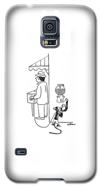 New Yorker August 26th, 1944 Galaxy S5 Case by Sam Cobean