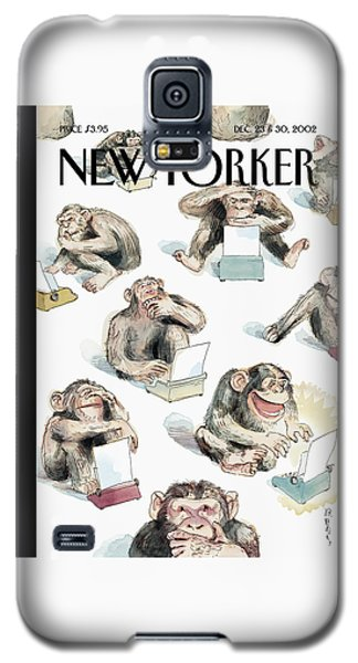 New Yorker December 23rd, 2002 Galaxy S5 Case