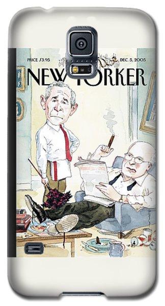 New Yorker December 5th, 2005 Galaxy S5 Case by Barry Blitt