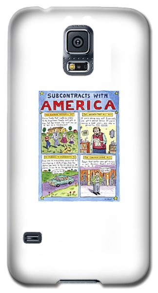 New Yorker January 16th, 1995 Galaxy S5 Case by Roz Chast
