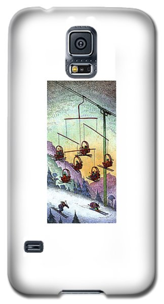 Sport Art Galaxy S5 Case - New Yorker January 30th, 1995 by John O'Brien