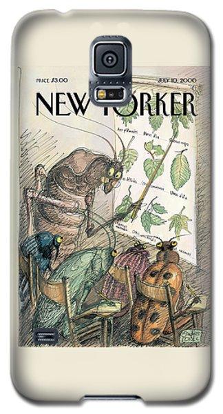 Cricket Galaxy S5 Case - New Yorker July 10th, 2000 by Edward Sorel
