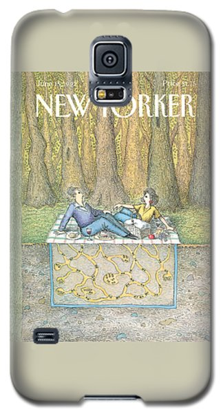 Ant Galaxy S5 Case - New Yorker June 15th, 1992 by John O'Brien
