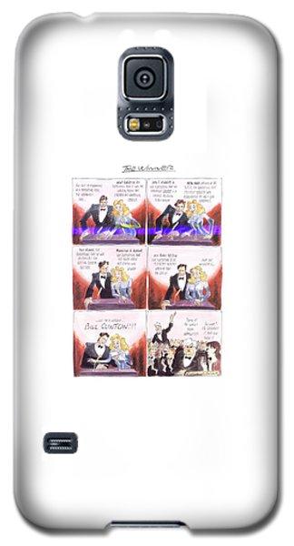New Yorker March 24th, 1997 Galaxy S5 Case by Edward Sorel