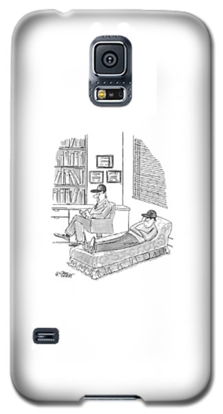 New York Yankees Galaxy S5 Case - New Yorker November 1st, 1999 by Peter Steiner